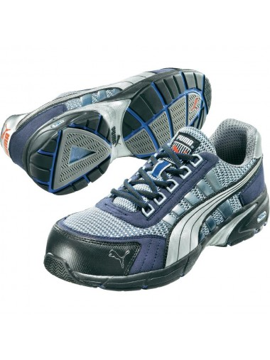 Baskets de sécurité Puma speed bleues S1P HRO SRA