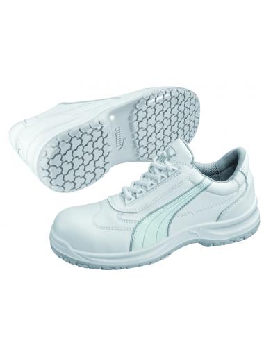 Baskets de sécurité Puma blanches S2