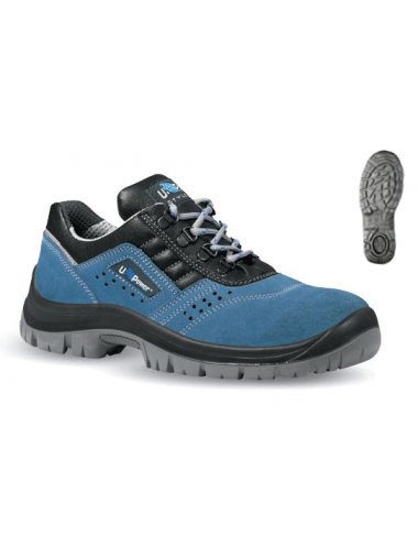 Chaussures de sécurité bleues S1P SRC
