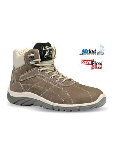 Chaussures de sécurité montantes Beige S3