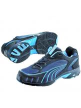 Baskets de sécurité femme Puma Fuse motion bleues S1
