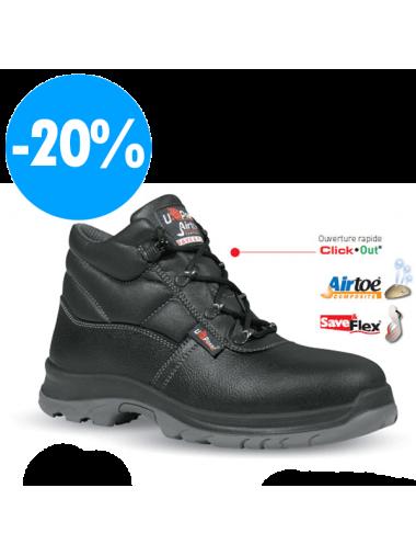 Chaussures de Sécurité Montantes mixte S3