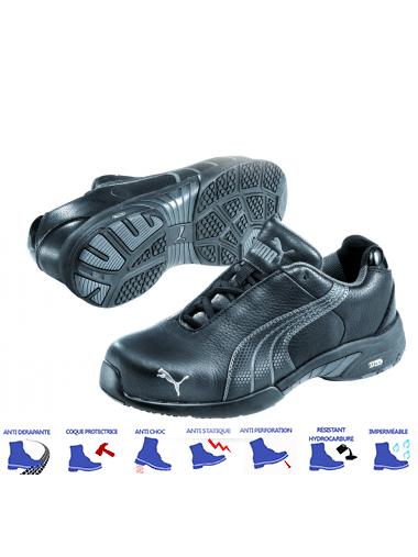 chaussures de securite hommes puma