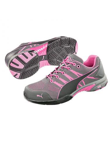 Chaussure de sécurité femme Puma celerity knit rose