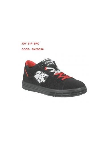 Baskets de sécurité noires et rouges S1P