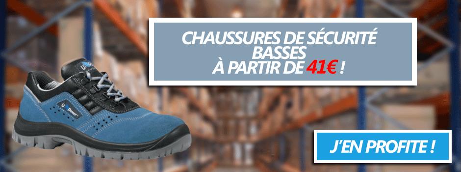 Chaussures de sécurité basses
