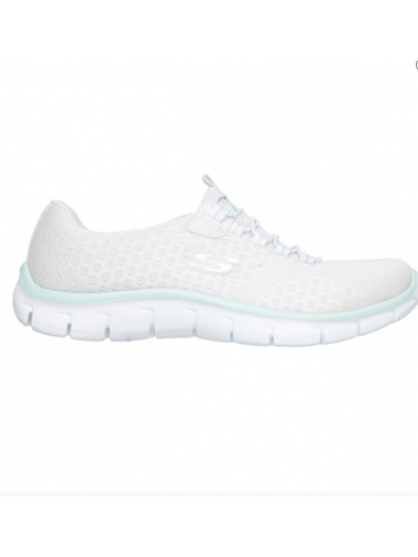Chaussures Skechers blanches